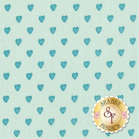 Love Story C7074-AQUA by Riley Blake Designs- REM