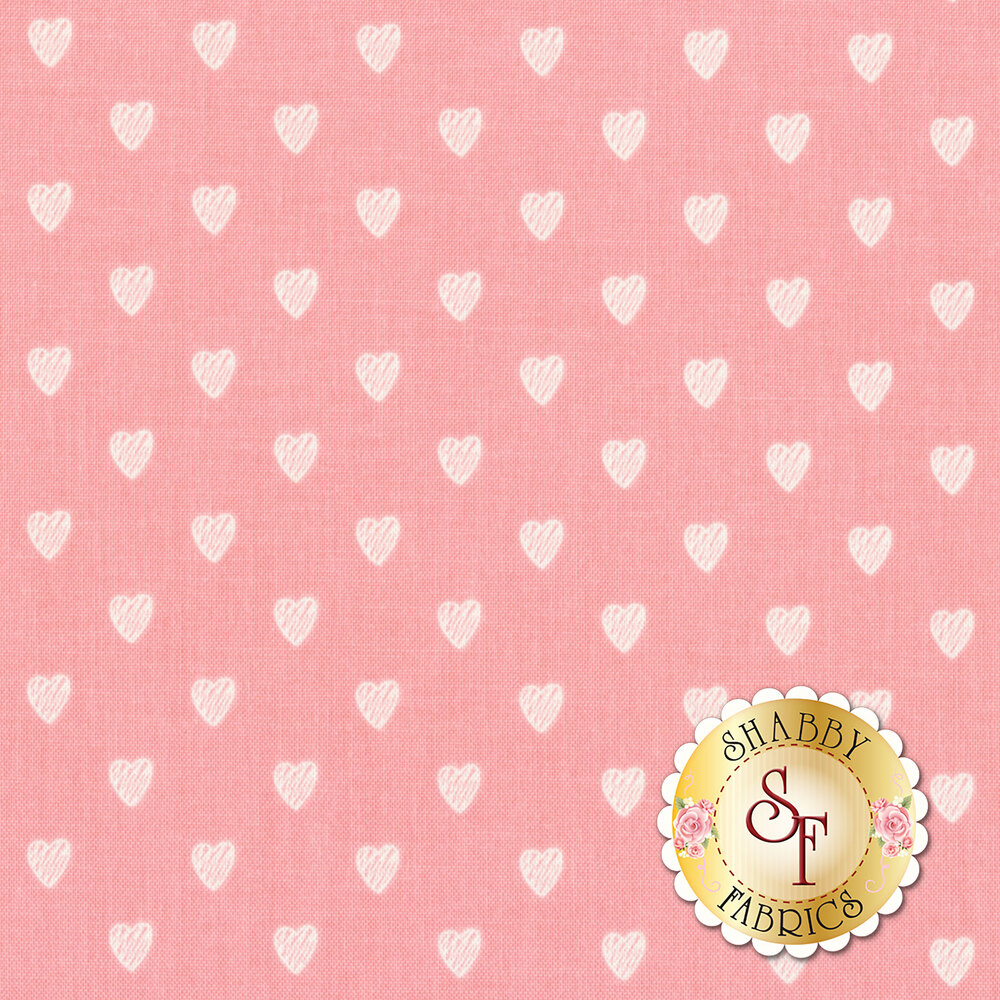 Love Story C7074-PINK by Riley Blake Designs