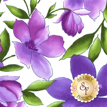 Catalina Ultra Violet 8400-WV by Marti Michell for Maywood Studio Fabrics