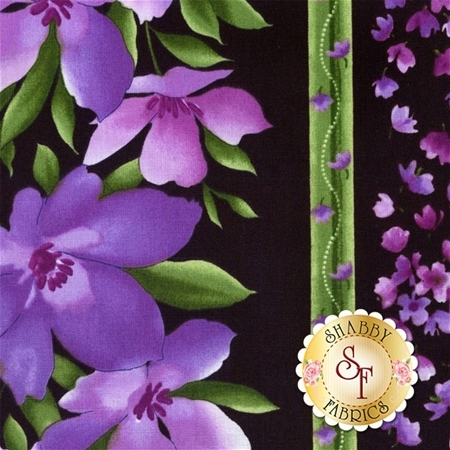 Catalina Ultra Violet 8402-JV by Marti Michell for Maywood Studio Fabrics
