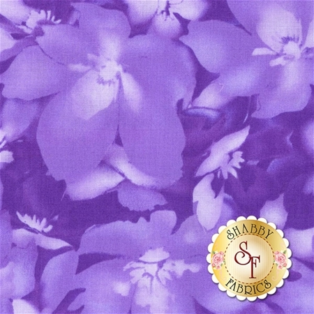 Catalina Ultra Violet 8406-V by Marti Michell for Maywood Studio Fabrics
