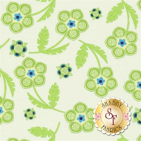 Manderley 47501-11 Cream by Franny and Jane for Moda Fabrics