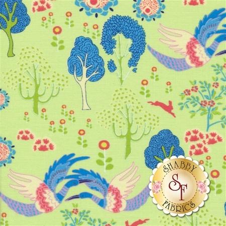 Manderley 47502-16 Honeydew by Franny and Jane for Moda Fabrics