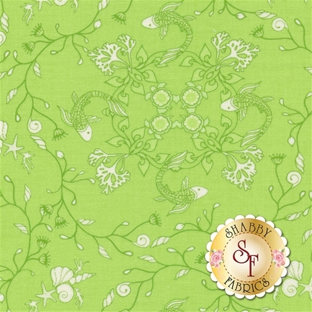 Manderley 47503-16 Honeydew by Franny and Jane for Moda Fabrics