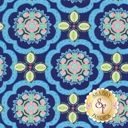 Manderley 47504-12 Navy by Franny and Jane for Moda Fabrics