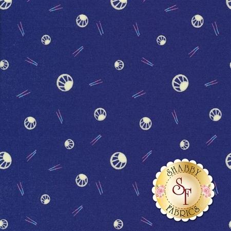 Manderley 47506-13 Navy by Franny and Jane for Moda Fabrics