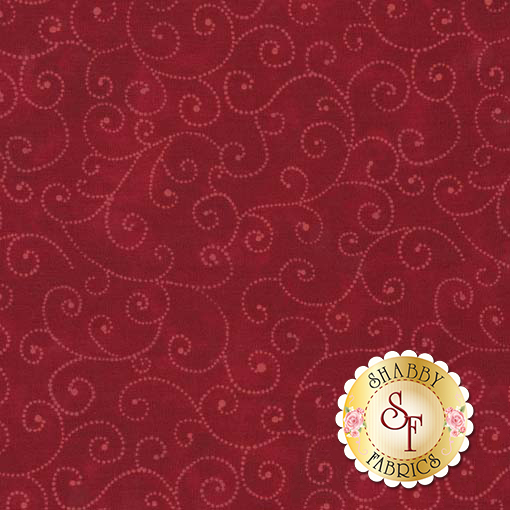 Marble Swirls 9908-50 Best Red by Moda Fabrics