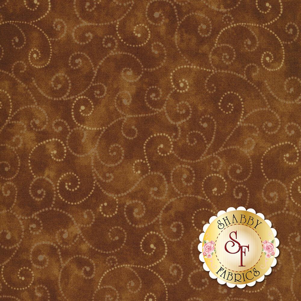 Marble Swirls 9908-81 Chocolate by Moda Fabrics