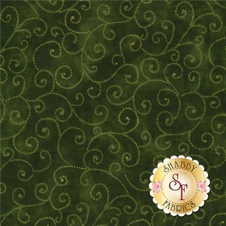 Marble Swirls 9908-85 Deep Olive By Moda Fabrics