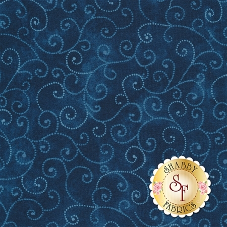Marble Swirls 9908-95 Stormy Sea By Moda Fabrics
