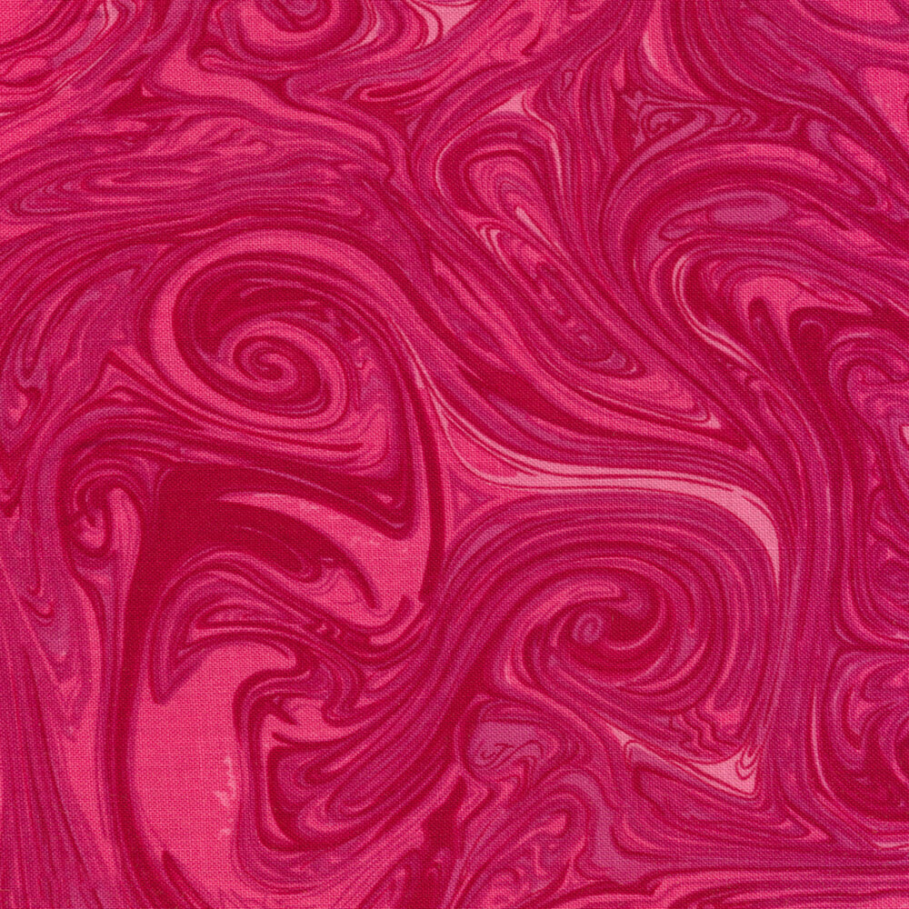 Marble CX1087-FUCH-D Fuchsia by Michael Miller Fabrics REM