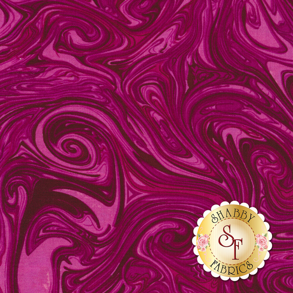 Marble CX1087-MAGE-D Magenta by Michael Miller Fabrics