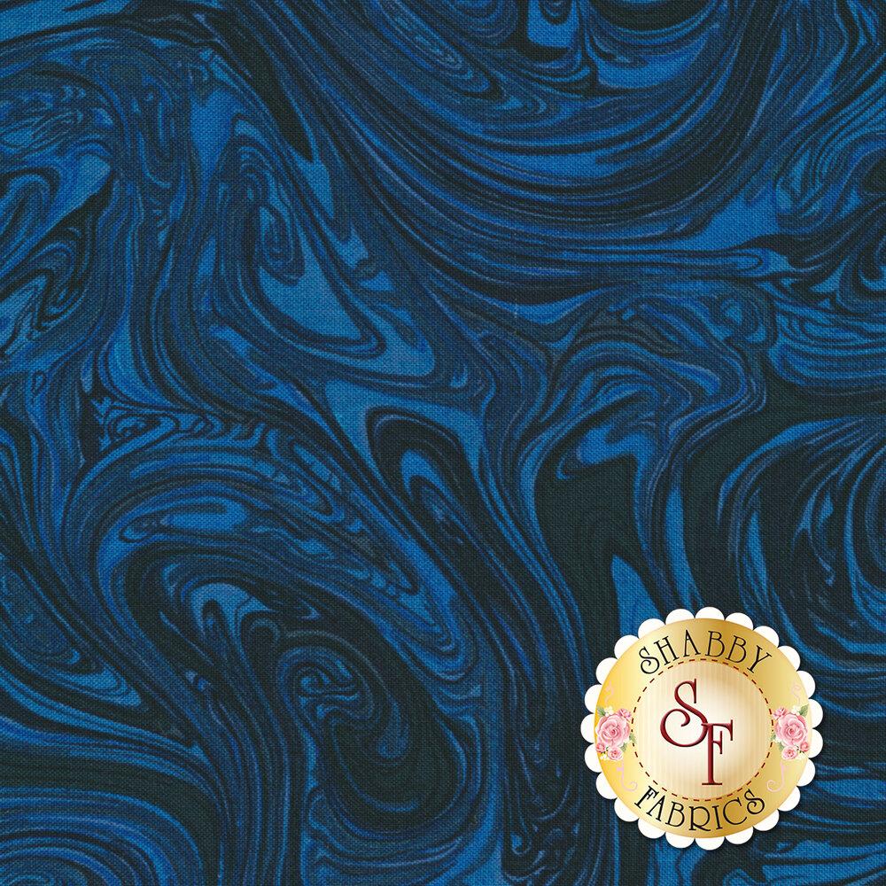 Marble CX1087-SAPH-D Sapphire by Michael Miller Fabrics