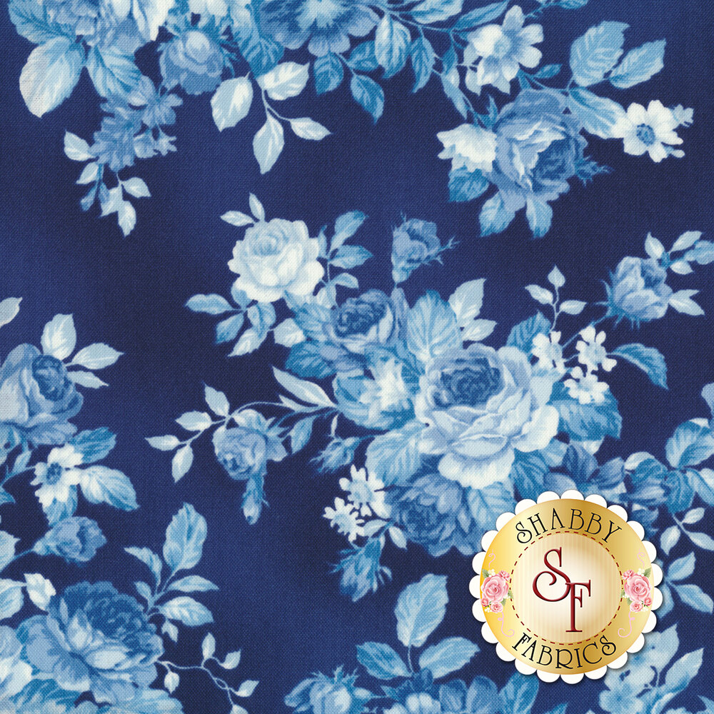 Mayfield 16961-62 Indigo by Robert Kaufman Fabrics