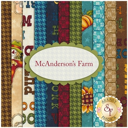 McAnderson's Farm  11 FQ Set by Leanne Anderson for Henry Glass Fabrics