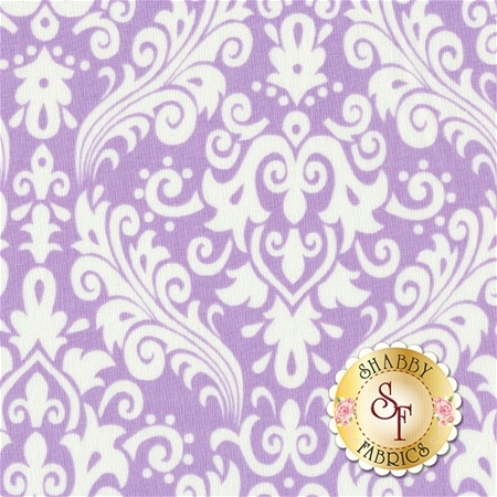 Medium Damask 830-120 Lavendar By Riley Blake Designs