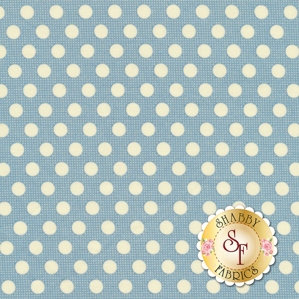 Medium Dots 130001 Teal by Tilda
