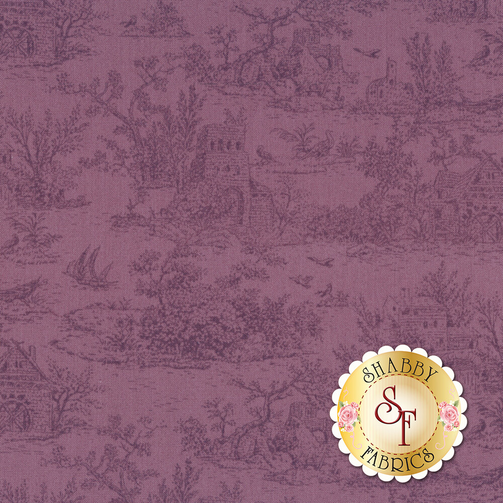 Meredith 18766-6 Purple by Robert Kaufman Fabrics available at Shabby Fabrics