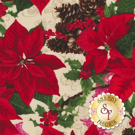 Merry, Berry, & Bright 3151-2 by RJR Fabrics