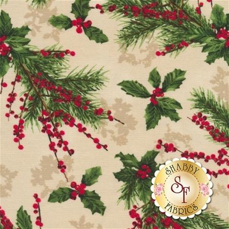 Merry, Berry, & Bright 3155-2 by RJR Fabrics