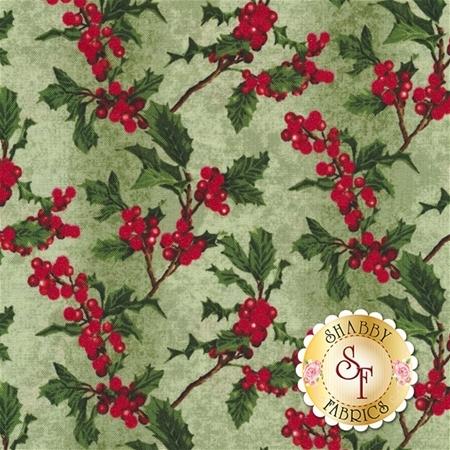 Merry, Berry, & Bright 3156-2 by RJR Fabrics