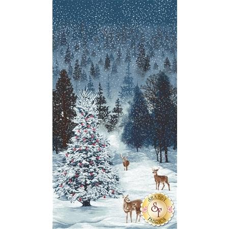 Merry, Berry, & Bright  3167-1 Panel by RJR Fabrics