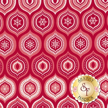 Merry Matryoshka C4381-Red by Carly Griffith for Riley Blake Designs