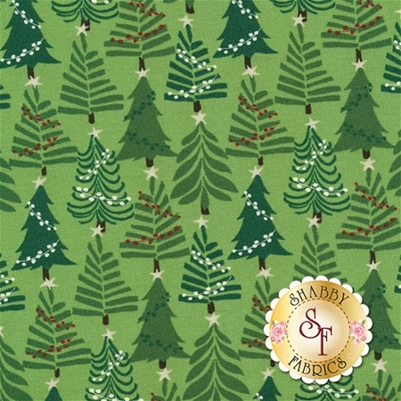 Merry Merry 27275-11 Spruce by Kate Spain for Moda Fabrics