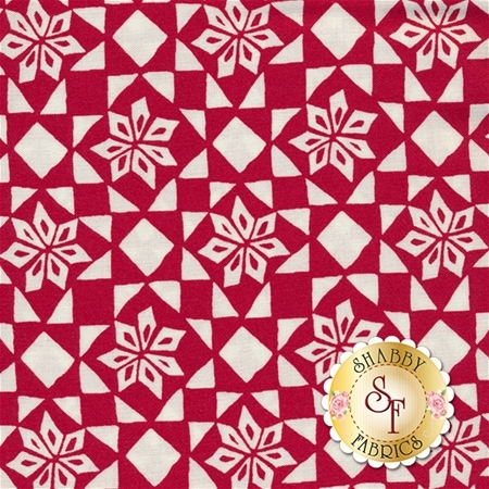 Merry Merry 27276-13 Snow Ribbon by Kate Spain for Moda Fabrics