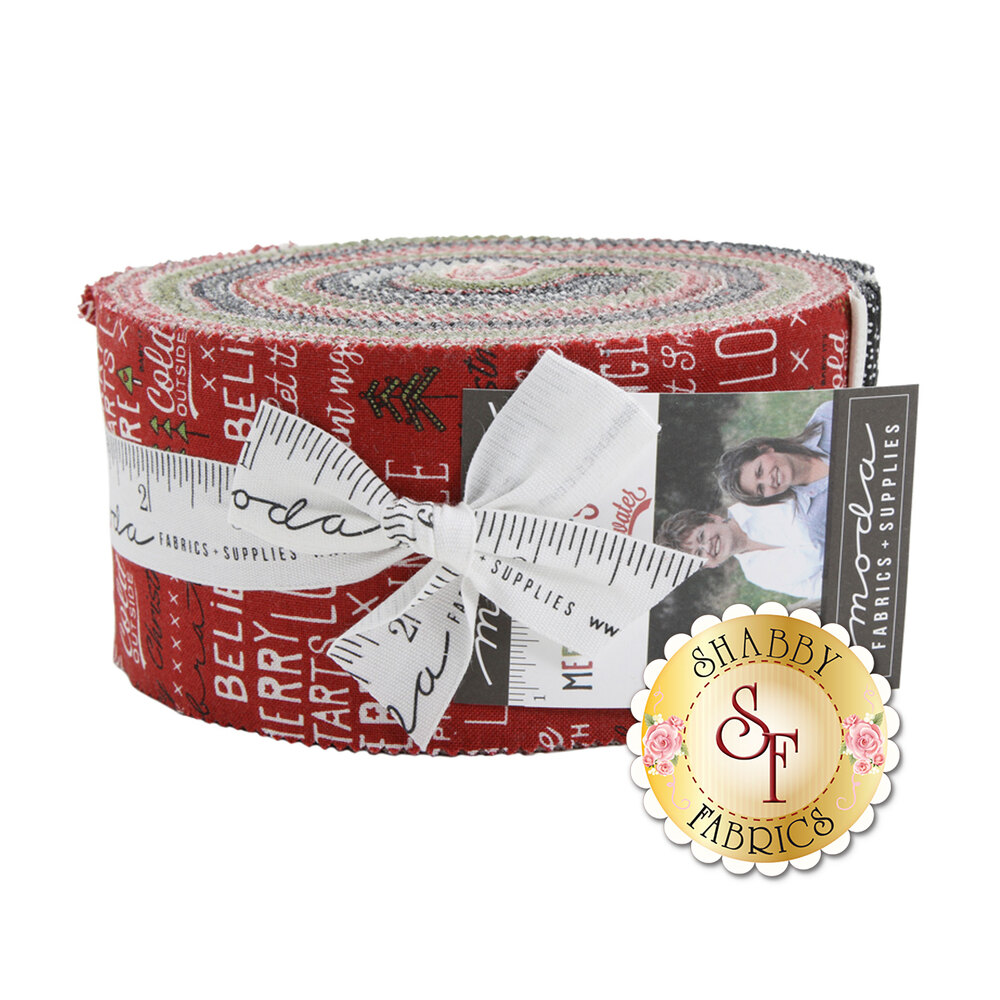 Merry Starts Here  Jelly Roll by Sweetwater for Moda Fabrics
