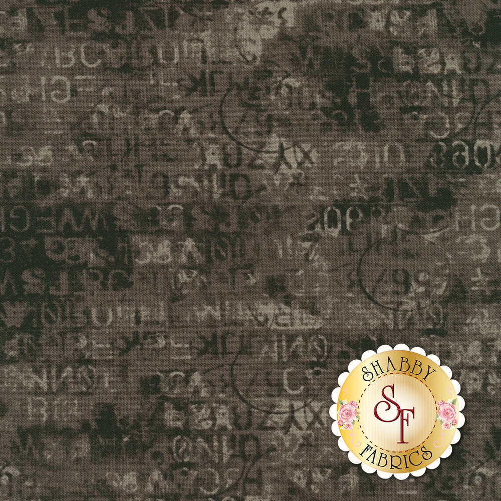 Metropolis 30566-18 Cipher Iron by Moda Fabrics