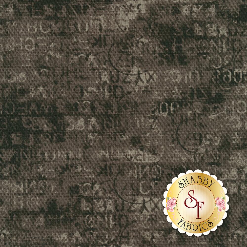 Metropolis 30566-18 Cipher Iron by Moda Fabrics