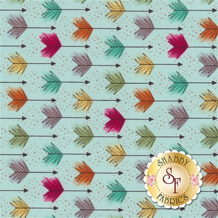 Modern Tyke 6569-11 by Kim and Molly Diehl for Henry Glass Fabrics
