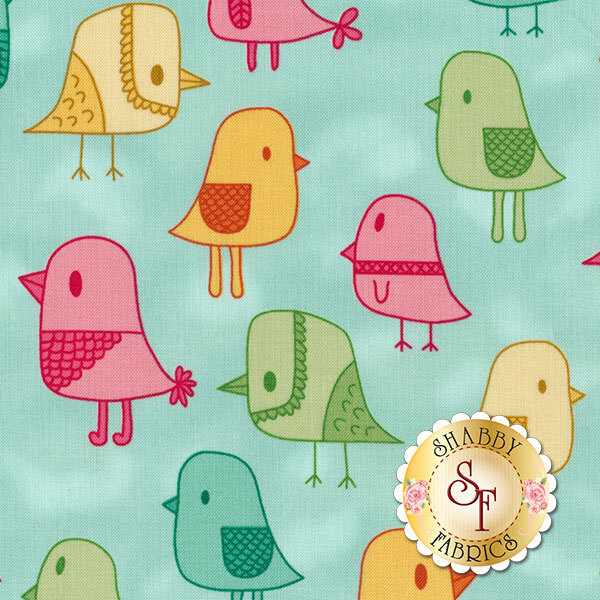 Modern Tyke 6575-11 by Kim and Molly Diehl for Henry Glass Fabrics