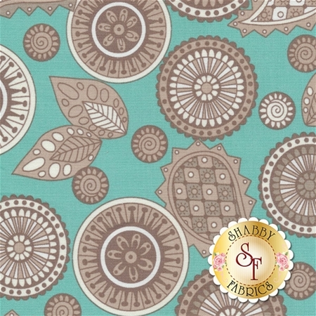 Modern Tyke 6576-11 by Kim and Molly Diehl for Henry Glass Fabrics