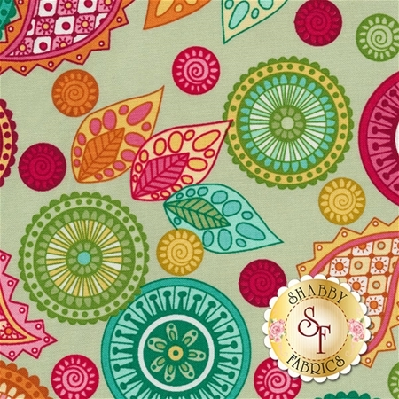 Modern Tyke 6576-66 by Kim and Molly Diehl for Henry Glass Fabrics