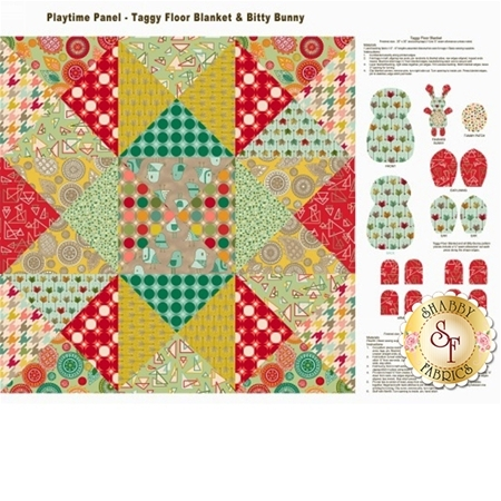 Modern Tyke 6577-64 Panel by Kim and Molly Diehl for Henry Glass Fabrics