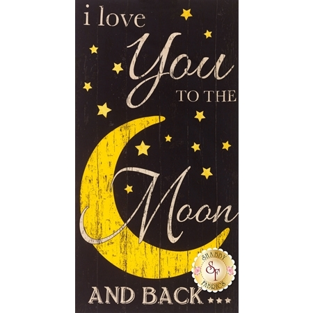 To The Moon And Back MOON-C5157 Panel by Timeless Tresures