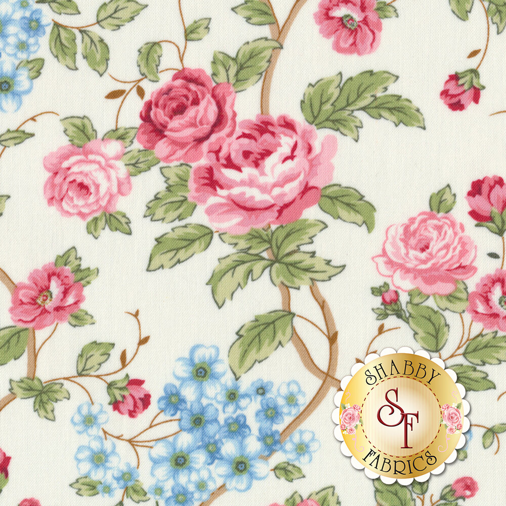 Morning in the Garden 2196-44 by Henry Glass Fabrics available at Shabby Fabrics
