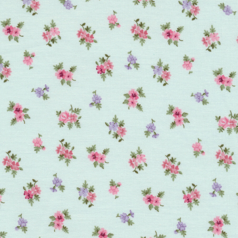Morning In The Garden 2198-11 by Mary Jane Carey for Henry Glass Fabrics