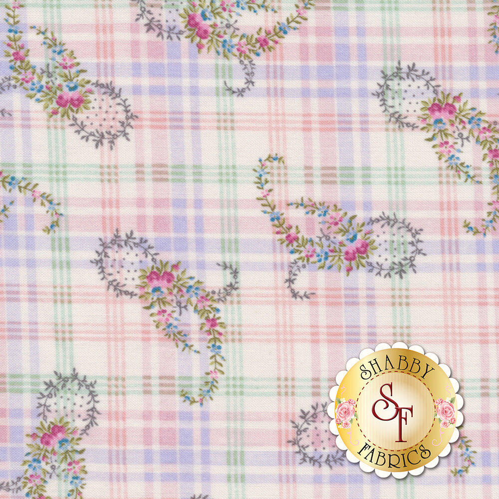 Morning in the Garden 2199-22 by Henry Glass Fabrics available at Shabby Fabrics