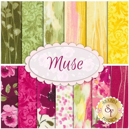 Muse  13 FQ Set from Timeless Treasures Fabrics