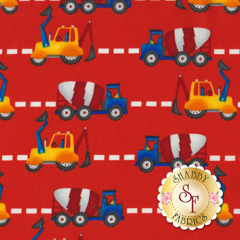 My Favorite Trucks 2209-88 by Henry Glass Fabrics available at Shabby Fabrics