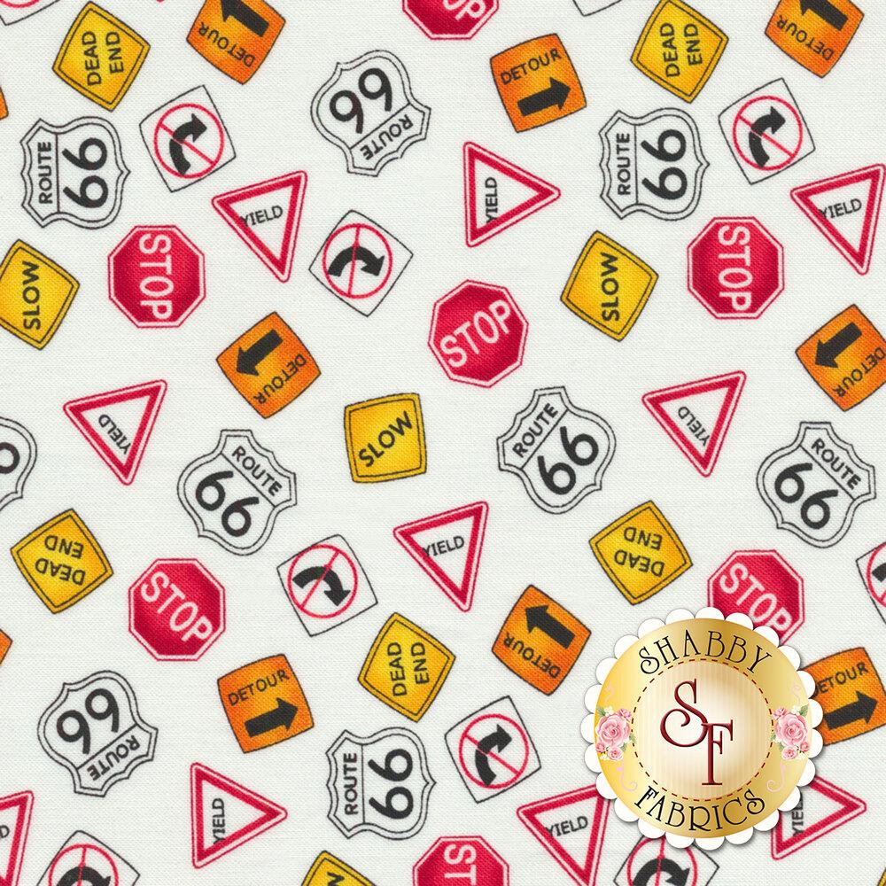 My Favorite Trucks 2210-1 by Henry Glass Fabrics available at Shabby Fabrics