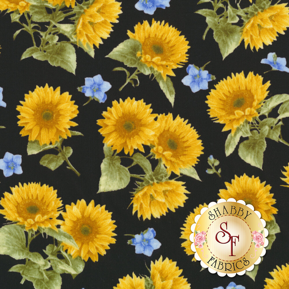 My Sunflower Garden 1381-99 by Henry Glass Fabrics REM