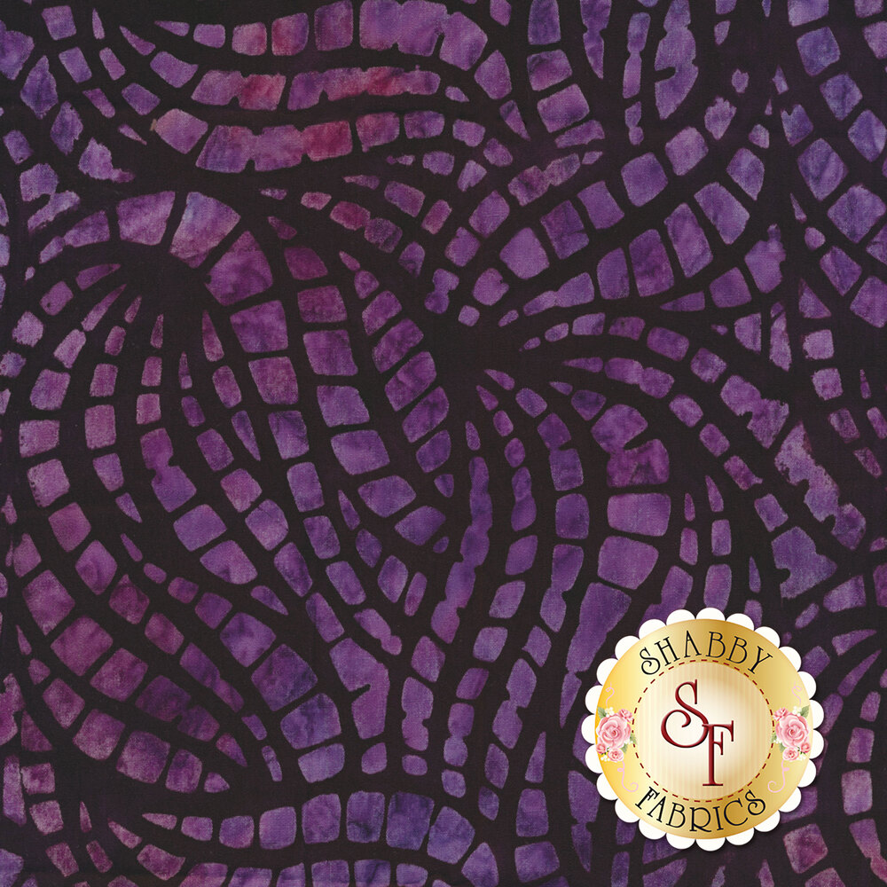 Swirled purple mottled stripes on a black background