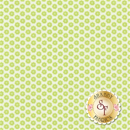 Nature Babies Flannel CF7222-GREE-D Green for Michael Miller Fabrics