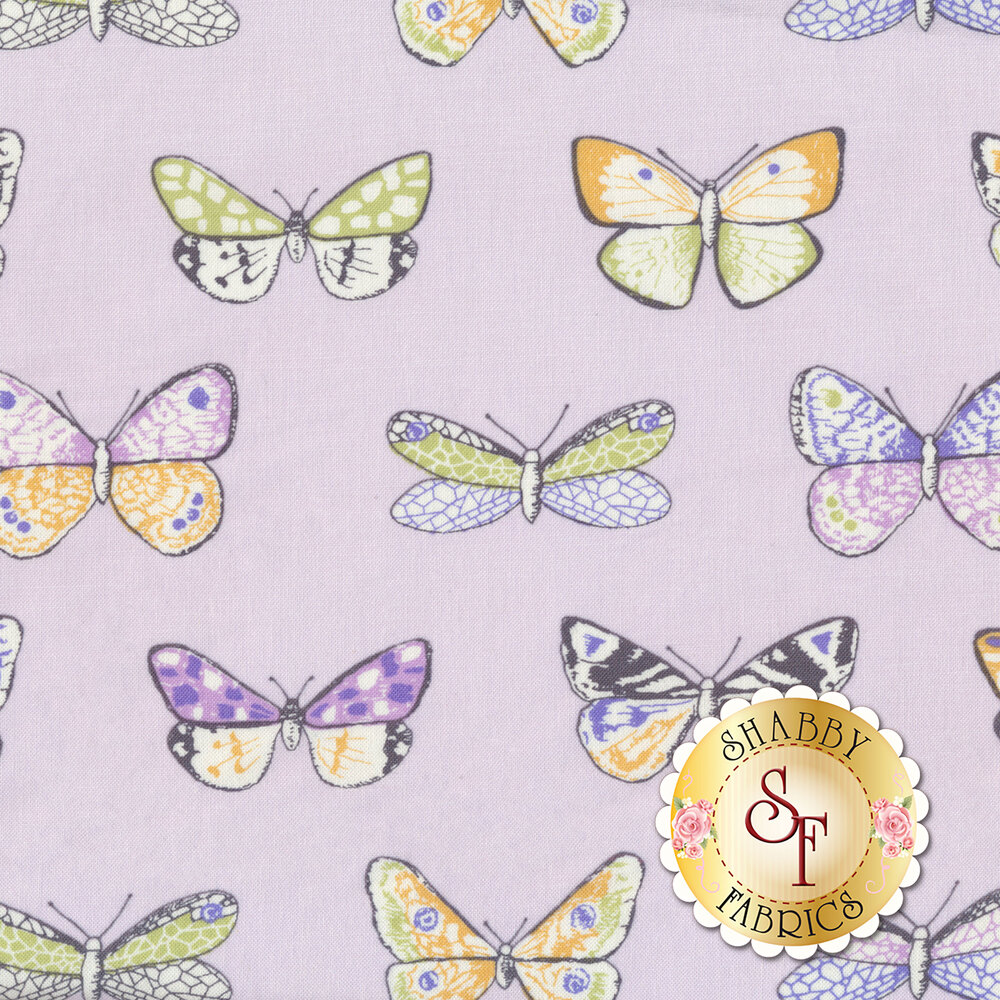Nature Journal CX8271-LILA by Michael Miller Fabrics available at Shabby Fabrics