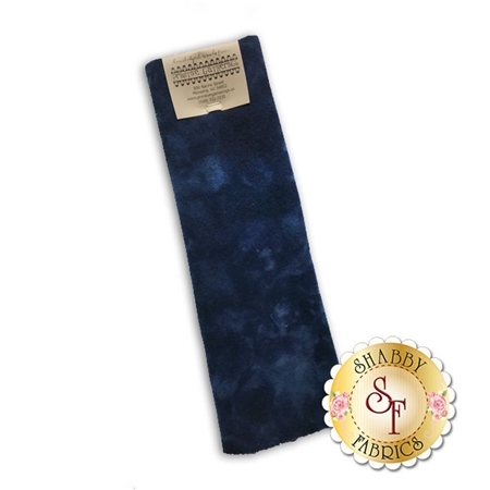 Hand Dyed Wool PRI 5044 Navy Solid by Primitive Gatherings for Moda Fabrics