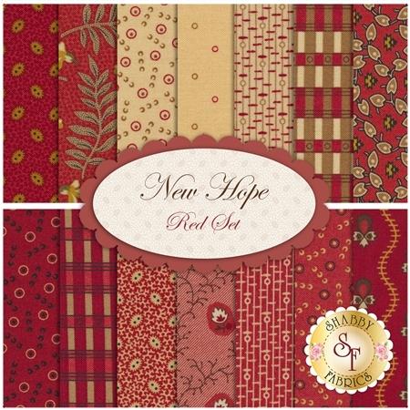 New Hope  14 FQ Set - Red Set by Moda Fabrics